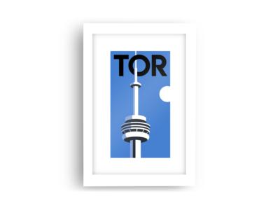 Toronto Minimalist Poster