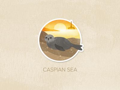 Day Sixty-One: Caspian Sea