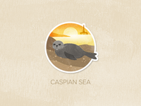 Day Sixty-One: Caspian Sea