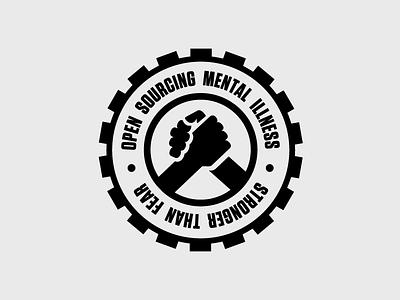OSMI: Stronger Than Fear vector branding badge logo