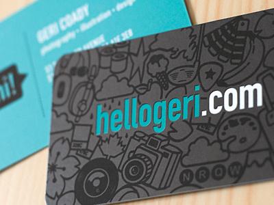 Business Cards business cards businesscards branding personal uv spot varnish teal brown blue