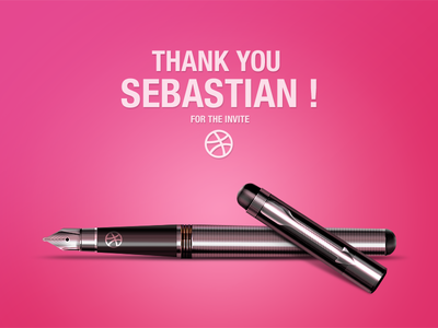 Thank you! Sebastian