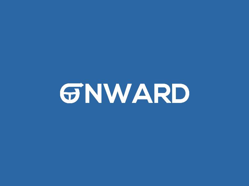 Onward. graphicdesign design logos connorbranding flux identity branding brand logodesigner logodesign logo