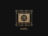 Dribbble Invite ticket gold thank you invite first shot dribbble draft contest