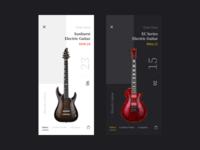 Guitar Store App
