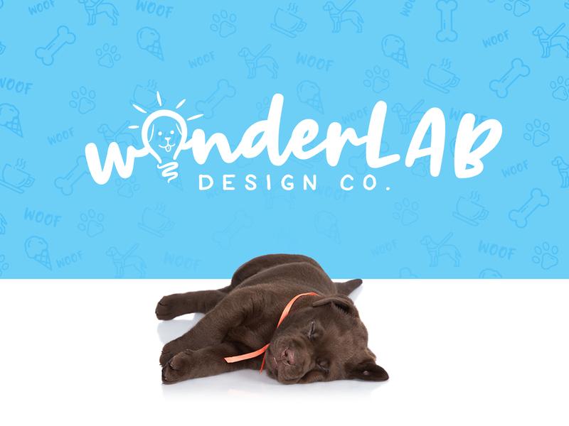 Wonderlab Design Co dog logo