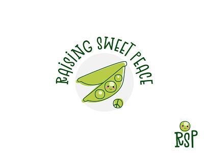 Raising Sweet Peace child logo kids logo