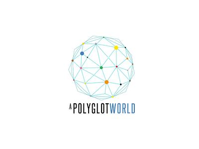 Polyglot World Logo Comp world geometric color steelfish logo comp shapes
