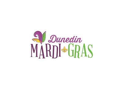 Dunedin Mardi Gras Logo florida dunedin logo mardi gras