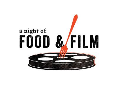 A Night of Food & Film Logo food film logo