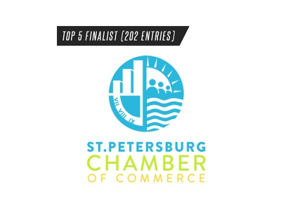 St. Petersburg Chamber Logo Rebrand Competition st. petersburg chamber of commerce
