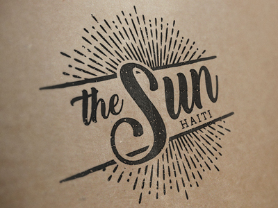 The Sun Haiti Logo logo nonprofit