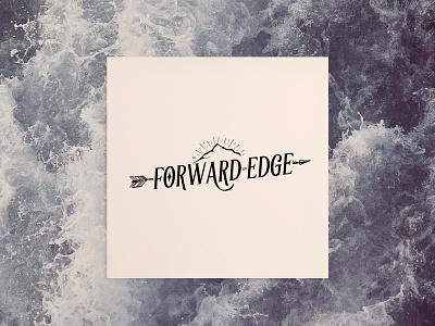 Forward Edge Mockup logo design concept