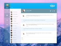 Skype Redesign