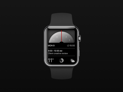 Apple Watch Face disk time apple watch face apple watch