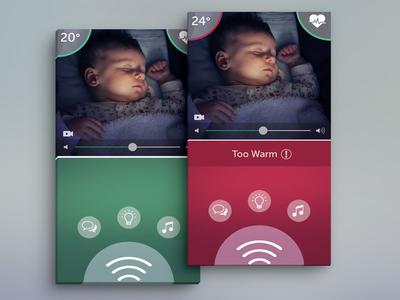 Baby Monitor UI