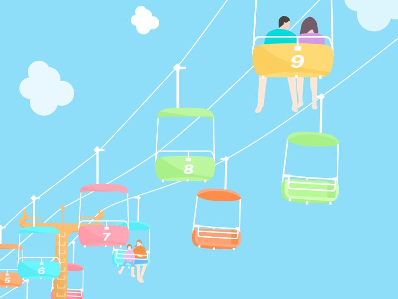 summer day illustration