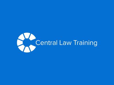 Central Law Training logo branding clt lawyer law firm legal professional training law
