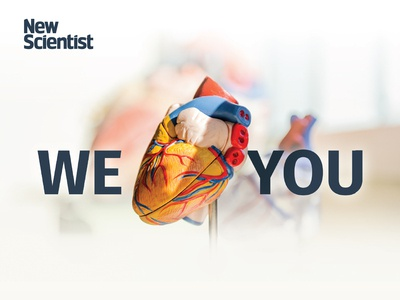 We Heart You print ad we love you heart love science