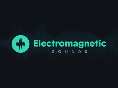 Electromagnetic Sounds sound wave audio audio logo sound logo logo branding