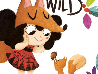 Born to be Wild child color nature wild illustration kids