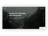 Travel / Explore Header Inspiration