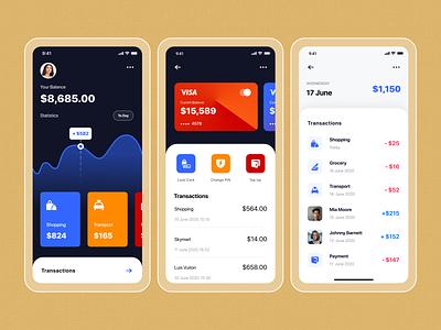 Finance mobile app UI figma application design application ui app design mobile ui design mobile app design mobile design mobile ui banking app finance app