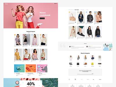 Fashion e-commerce websites uxdesign ui design website concept website design website e-commerce fashion app fashion design user interface design