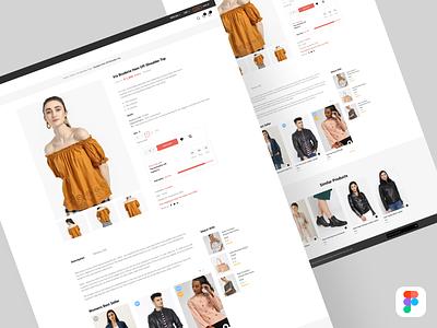 shop detail screen figmadesign ecommence web app design clothes woman add to cart interaction design webpage myntra flipkart ecommerce design shop detail uiux