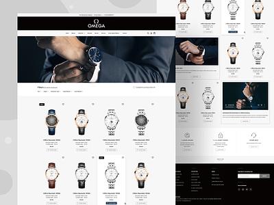 Watch Collection figma design ui design app design ios app development user experience design mobile app design figmadesign user interface design ecommerce design website design