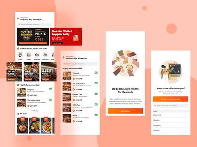 Restaurants Booking Mobile App mobile app design app design uiuxdesigner uiux mobile app development restaurantpplication restaurantsbookingapp