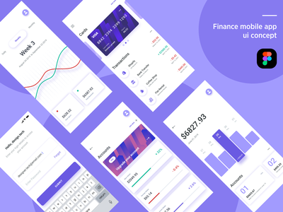 Finance Mobile App UI concept dashboard ui finance mobile app finance financial finance app figma app designer ui app design ios app development ios app figmadesign mobile app design user experience design user interface design