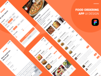 Food Ordering app UI Design.