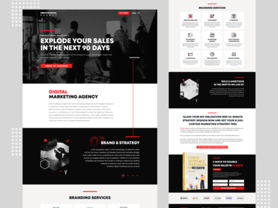Creative Digital Agency Website Theme.