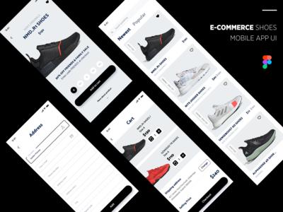 e Commerce Shoes Mobile App