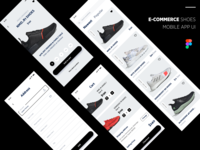 e Commerce Shoes Mobile App