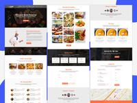 Quanda - Pizza shop restaurant website template