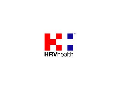 HRV Health Logo logotype designer h logo hospital minimalist logo logotypedesign branding logo design logos logotype logodesign logo adobe illustrator design minimal flat
