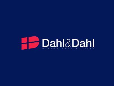 Dahl&Dahl designer 2d minimalist logo adobe logo design logodesign logotype logo design logos adobe illustrator minimal flat