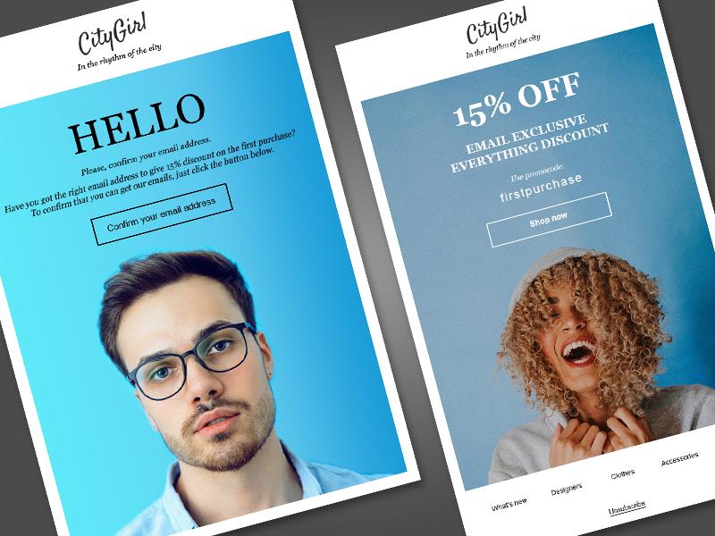 Onlinestore confirm discount dribbble