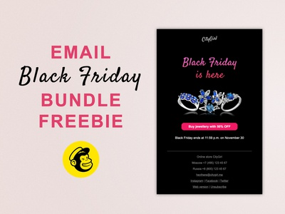 Email Black Friday Bundle Freebie
