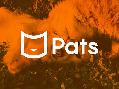 Logo Creation of Pats Company logo mark branding design cat logo logos logo design logotype brand design branding dog logo pet logo pet brand identity icon typography vector logo logodesign branding concept graphicdesign adobe