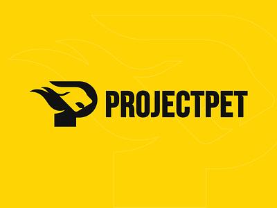 ProjectPet Logo Creation logo designer cat logo dog logo agressive minimalist logo pet logo pet branding design vector logo mark branding and identity logotype brand design logo design logodesign logo branding concept branding brand identity adobe