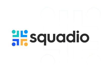 Logo/Branding Design for Squadio Company colorful minimalist logo brand abstract logo logo logomark icon mark collaboration connect abstract branding and identity minimal logotype logo design vector brand design brand identity branding adobe