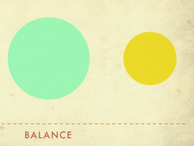 Post Images - Balance balance typography color grunge futura