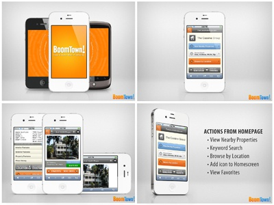 Friday 7:15pm boomtown mobile iphone design