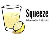 Squeeze vector with ice and text