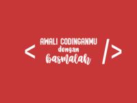 Start Your Code With Basmalah