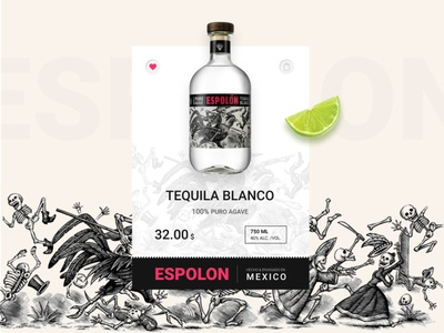 Product card - Tequila