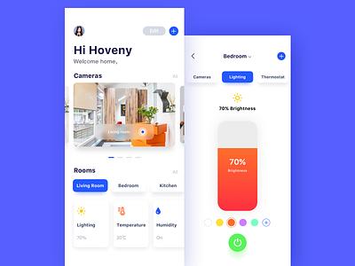 Smart Home APP ui app design